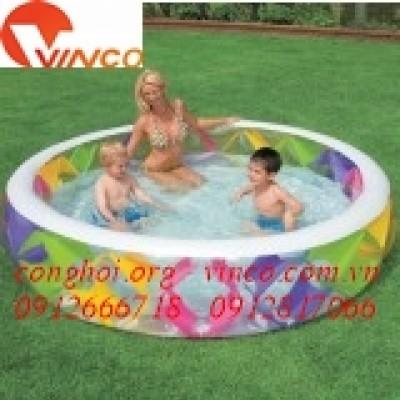 Bể bơi phao tròn gia đình